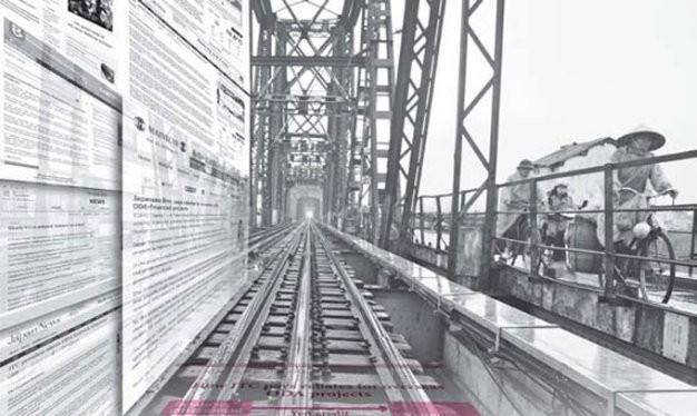 Báo chí Nhật nói về vụ hối lộ 16 tỉ đồng và dự án đường sắt đô thị Hà Nội tuyến số 1 Yên Viên - Ngọc Hồi, một trong những dự án sử dụng vốn ODA Nhật Bản