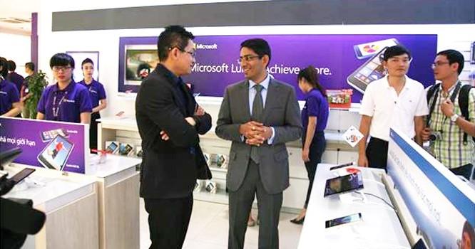 ửa hàng phân phối chính hãng tại Việt Nam của Microsoft.