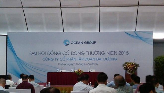 ĐHCĐ Ocean Group bất thành, năm 2014 lỗ 1.370 tỷ đồng