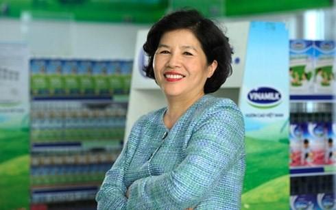 Bà Mai Kiều Liên là một trong những nữ doanh nhân quyền lực nhất Việt Nam
