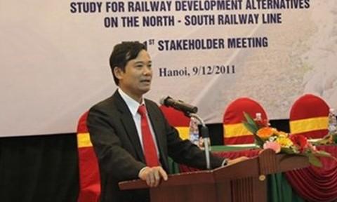 Trần Quốc Đông, nguyên Phó tổng giám đốc Tổng Cty Đường sắt Việt Nam, nguyên Giám đốc RPMU