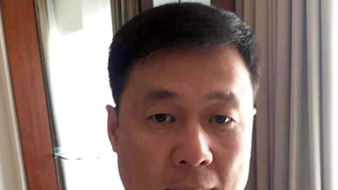 Yin Wen Sheng khi đang làm việc tại công an tỉnh Khánh Hòa - Ảnh: Hồ sơ điều tra của công an
