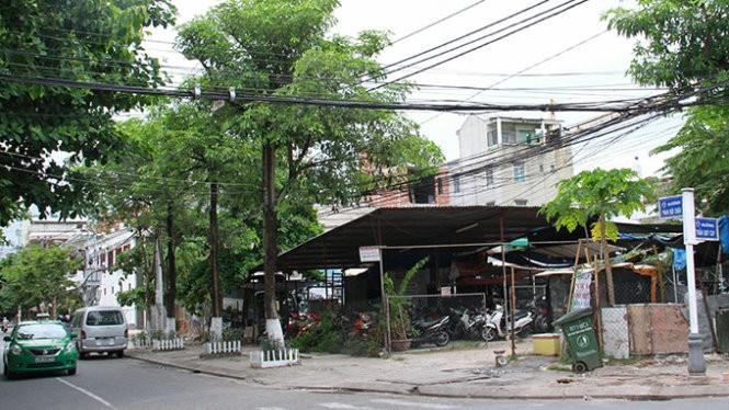 """Vị trí đất """"vàng"""" ở đường Phan Bội Châu mà bà Trần Thị Yến Minh được bố trí"""