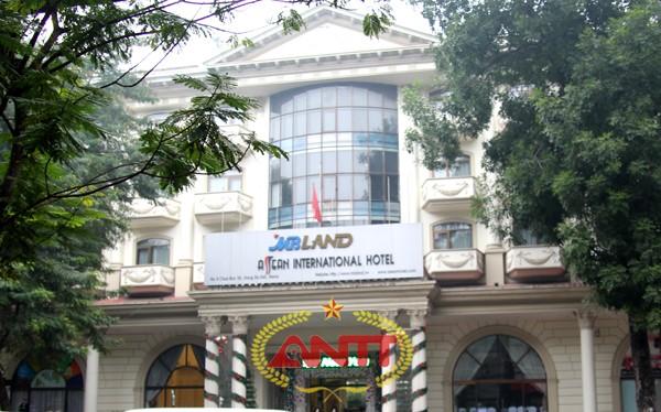 Khu đất công ty CP quốc tế ASEAN thuê của thành phố nằm trên con đường sầm uất của Thủ đô