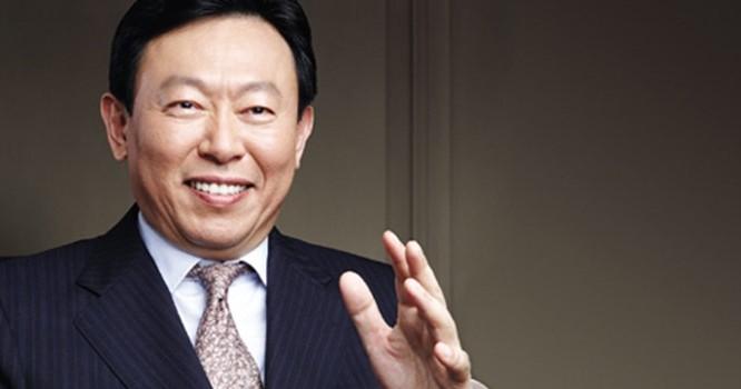 Chủ tịch tập đoàn Lotte Shin Dong-bin. Ảnh: Newsworld