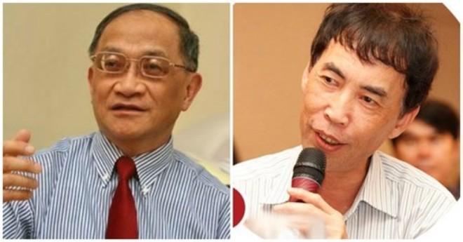 TS. Lê Đăng Doanh, nguyên Viện trưởng Viện CIEM, TS. Võ Trí Thành, Phó viện trưởng Viện CIEM