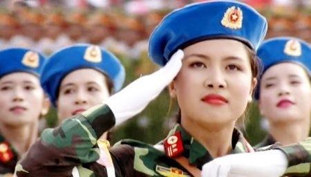 Bật mí về nữ sĩ quan xinh đẹp dẫn đầu đoàn diễu binh khối Quân y