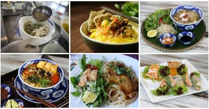 Độc đáo ẩm thực 3 miền tại Premier Village Đà Nẵng Resort