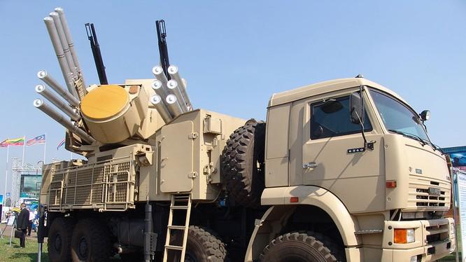 Hệ thống tên lửa Pantsir-S1 cho Syria được cho là cực mạnh