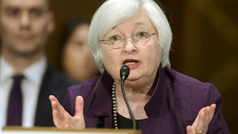 Chủ tịch Cục dự trữ liên bang Mỹ - bà Janet Yellen.