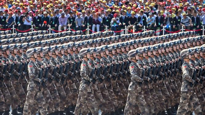 Trung Quốc duyệt binh rầm rộ, phát đi nhiều thông điệp về sự nỗi lên của mình