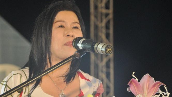 Bà Hà Thuý Linh tại một sự kiện được tổ chức tại TP. Đà Lạt -Ảnh: LÂM THIÊN