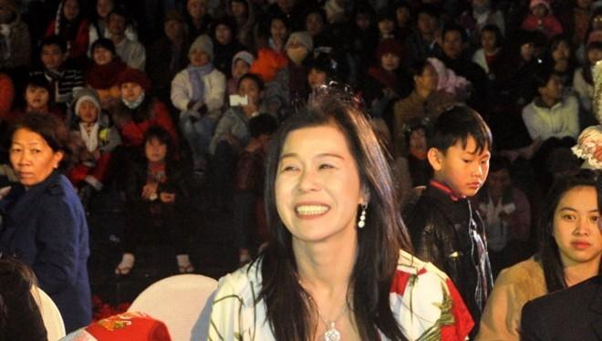 Bà Hà Linh tại một sự kiện tổ chức tại TP Đà Lạt - Ảnh: L.Thiên