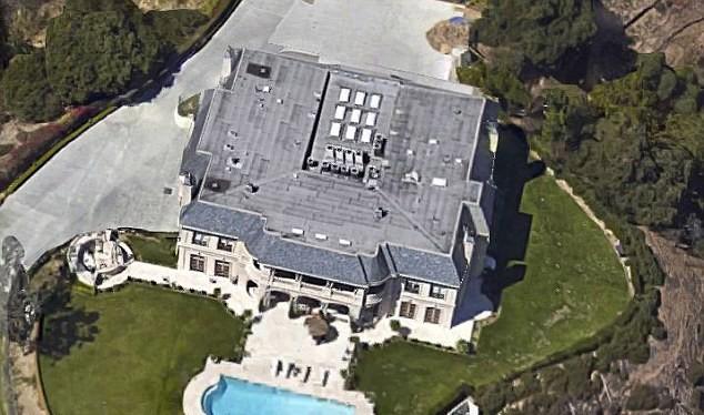 Cảnh sát cho biết Al-Saud đã thuê lại khu nhà lớn trị giá 37 triệu USD ở Beverly Hills.