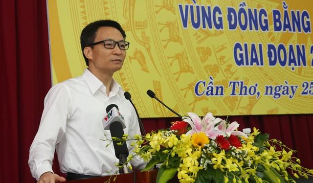 Phó Thủ tướng Vũ Đức Đam dự và chỉ đạo Hội nghị. Ảnh: VGP/Đình Nam