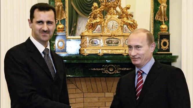 Ông Putin đang có những bước đi mạnh mẽ tại Syria