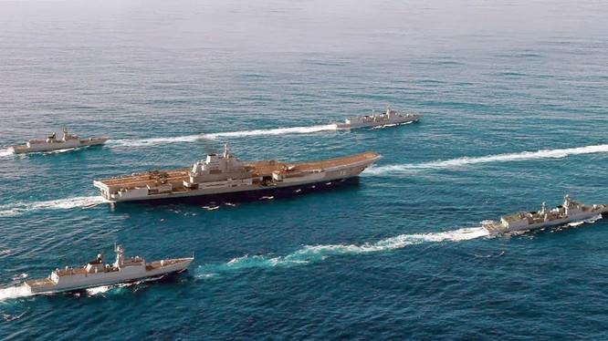 Trung Quốc đang trong quá trình thiết lập cụm tàu tác chiến sân bay với tàu sân bay Liêu Ninh