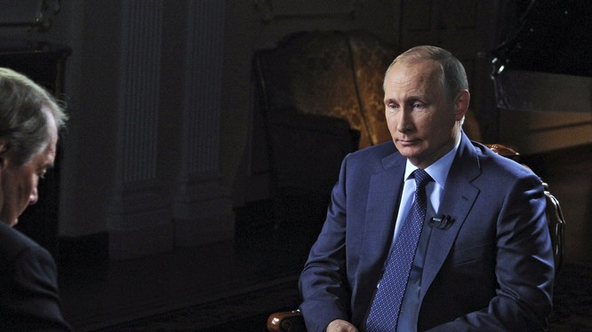 Ông Putin trên truyền hình Mỹ