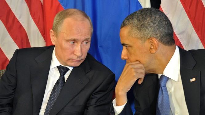 Hai nhà lãnh đạo Putin và Obama