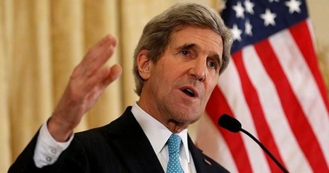 Ngọa trưởng Mỹ John Kerry. Ảnh: AP