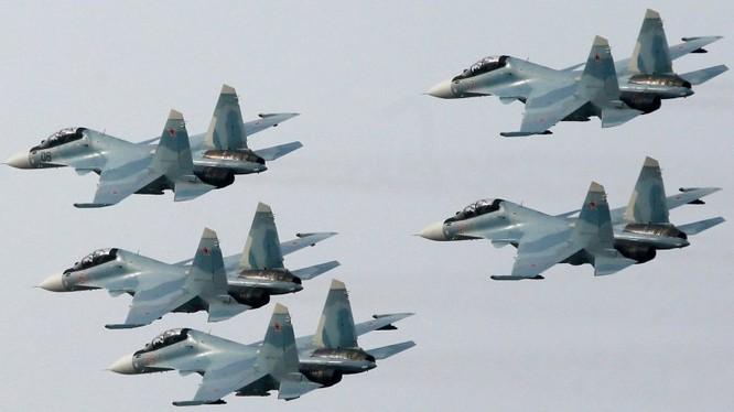 Mỹ lo ngại khi tiêm kích khủng Su-30SM xuất hiện tại Syria