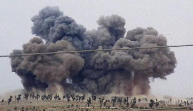 Nga không kích các mục tiêu IS ở Syria