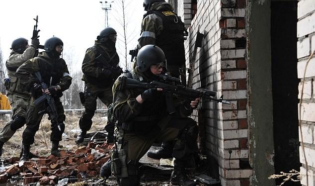 Lính đặc nhiệm Nga nổi tiếng thiện chiến và can đảm