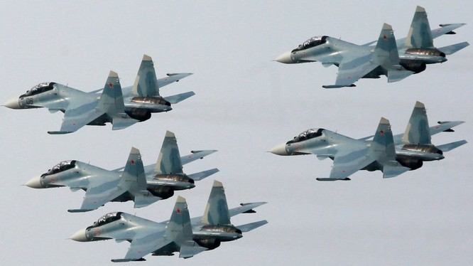 Chiến đấu cơ Su-30SM tối tân của Nga đang tham chiến tại Syria