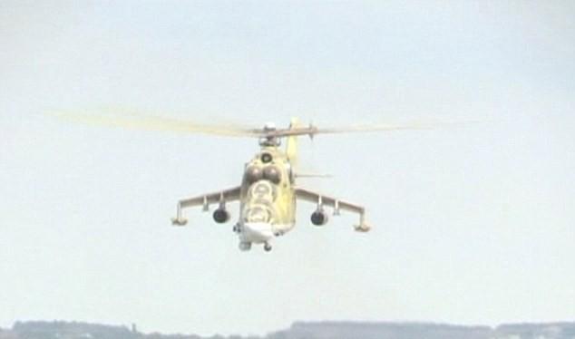 Trực thăng chiến đấu Nga tác chiến tại Syria