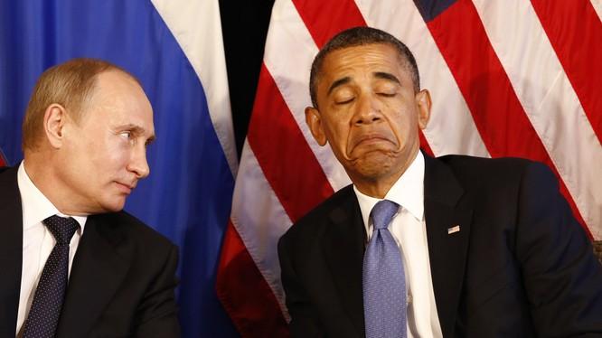 """Ông Obama chê ông Putin """"yếu"""""""