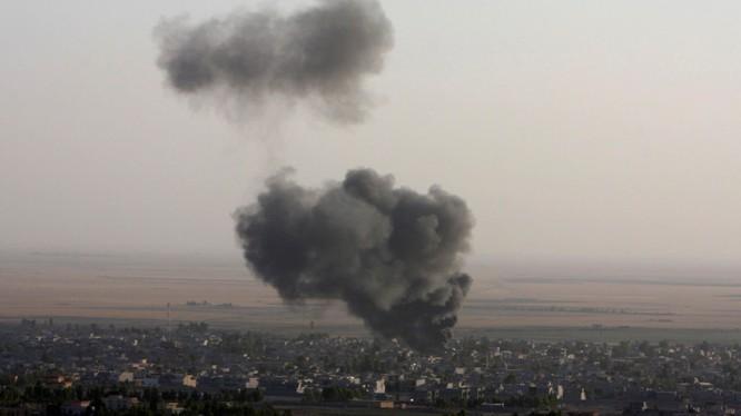 Liên quân không kích phiến quân khủng bố tại Syria
