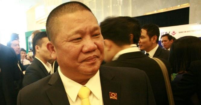 Ông Lê Phước Vũ, Chủ tịch tập đoàn Hoa Sen. Ảnh: Quang Sơn