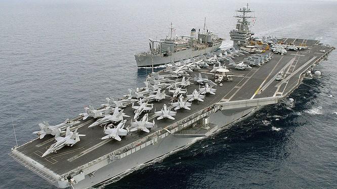 Tàu sân bay Mỹ hoạt động thường xuyên ở Biển Đông