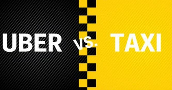 Cuộc đối đầu giữa Uber với các hãng taxi truyền thống chưa dứt. Ảnh: TL