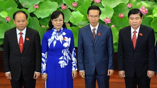4 Phó bí thư TP.HCM - Ảnh: Diệp Đức Minh