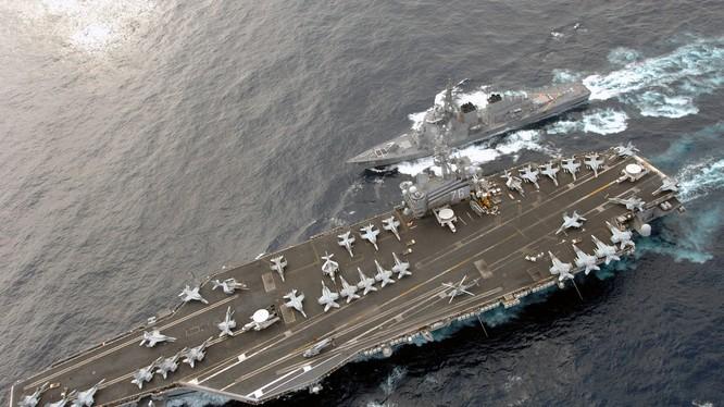 Mỹ có thể điều tàu chiến đi sát các đảo nhân tạo Trung Quốc xây dựng trái phép ở Biển Đông bất cứ lúc nào
