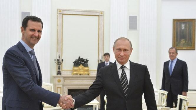 Assad bay sang Nga cảm ơn Putin về chiến dịch quân sự