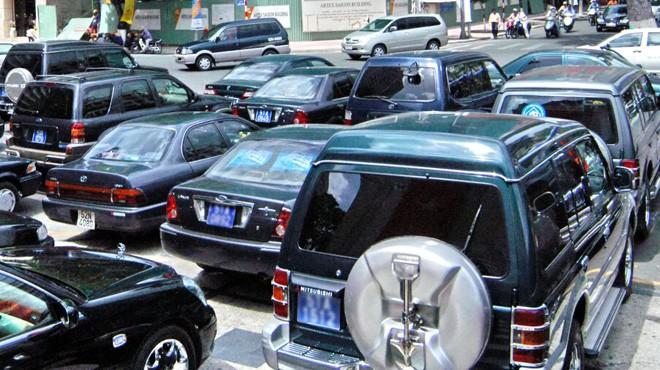 Quy định mới của Bộ Tài chính có thể giúp giảm 7.000 xe công.