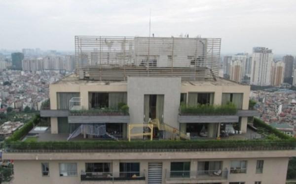 Penhouse chung cư Sky City 88 Láng Hạ