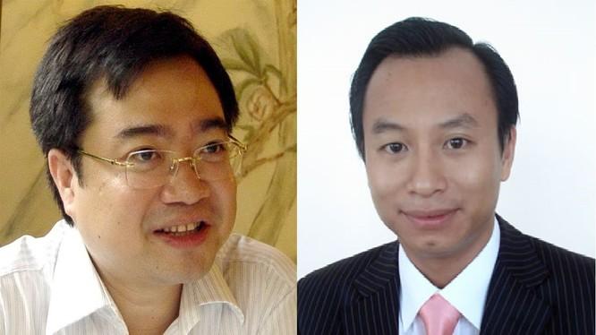 Hai bí thư tỉnh thành ủy trẻ nhất Việt Nam Nguyễn Thanh Nghị và Nguyễn Xuân Anh