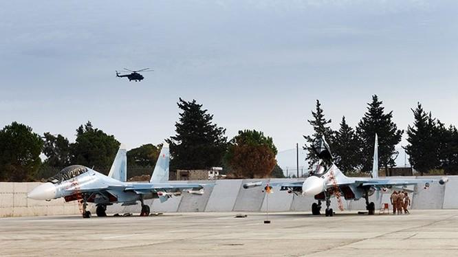 Máy bay chiến đấu Nga được cho là gặp khó khăn vì thời tiết khắc nghiệt ở Syria - Ảnh: Bộ Quốc phòng Nga