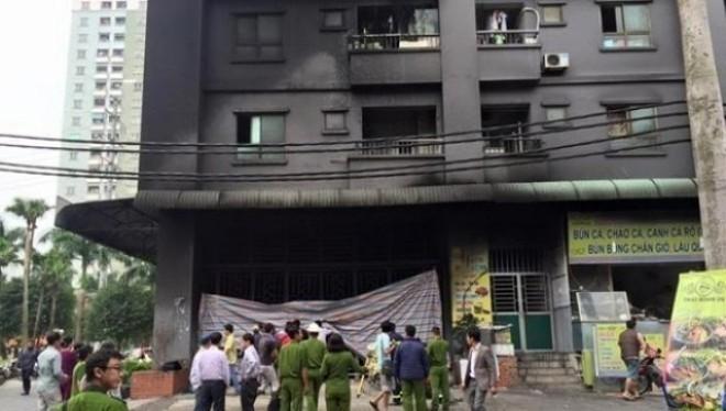 Khu chung cư của đại gia Lê Thanh Thản liên tục bị cháy