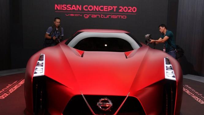 Một mẫu xe mới của hãng Nissan tại triễn lãm