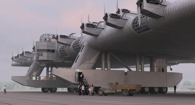 """Dự án về """"pháo đài bay"""" tuyệt mật của Liên Xô được giữ kín suốt thời gian dài"""