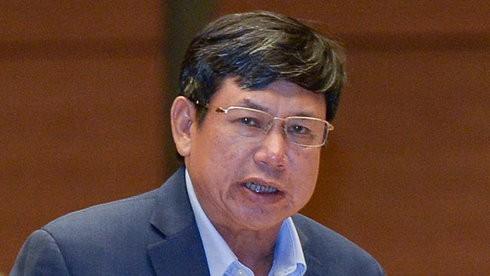 Đại biểu Lê Nam (tỉnh Thanh Hóa) Ảnh: Việt Dũng