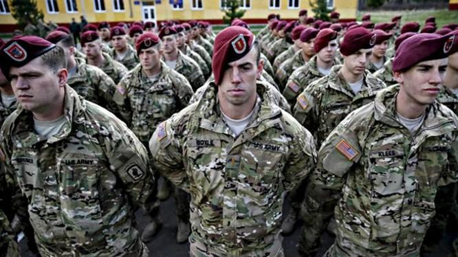 Lính Mỹ ở Ukraine - Ảnh minh họa: Reuters