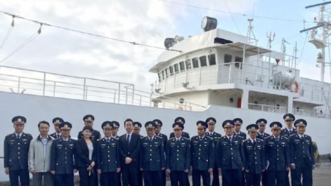 Tàu tuần tra đầu tiên do Nhật Bản viện trợ cho Cảnh sát biển Việt Nam, tại Đà Nẵng ngày 5.2.2015 - Ảnh: Cảnh sát biển Việt Nam