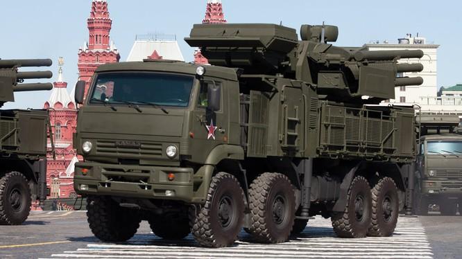 Nga triển khai tên lửa phòng không tại Syria
