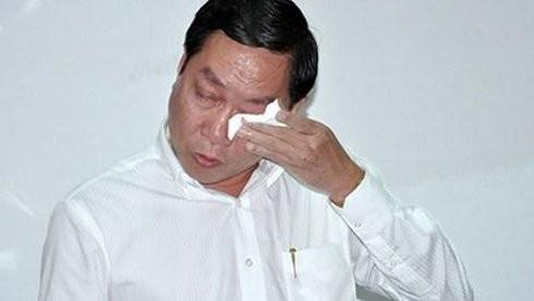 Giám đốc Sở Y tế TP.HCM không cầm được nước mắt