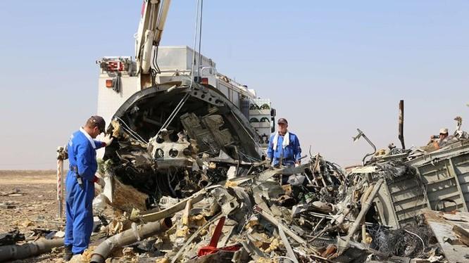 Chiếc máy bay của Nga bị rơi nghi không phải do vấn đề kỹ thuật